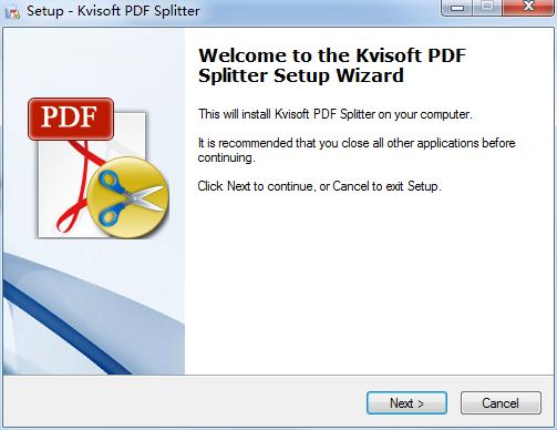 Kvisoft PDF Splitter(pdf文件分割软件)
