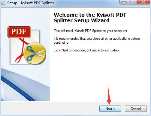 Kvisoft PDF Splitter(pdf文件分割软件)官方纯净版下载