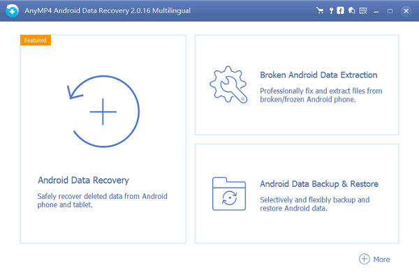 AnyMP4 Android Data Recovery官方最新版下载