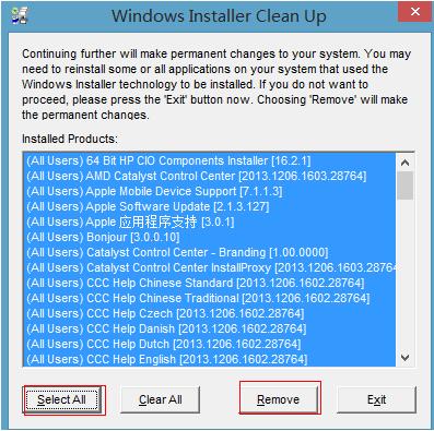 windows installer clean up下载安装