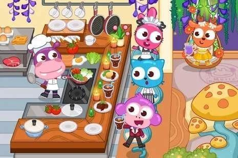 泡泡小镇餐厅中文版最新下载