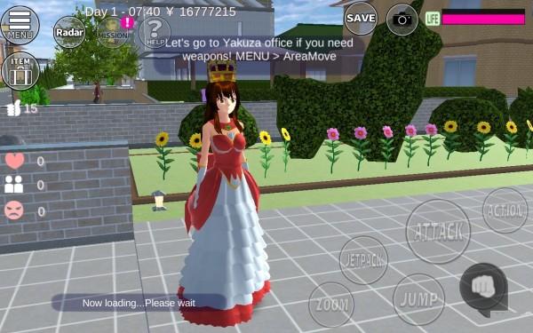 樱花校园模拟器公主版下载
