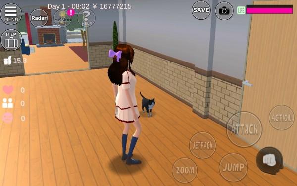 樱花校园模拟器追风版下载
