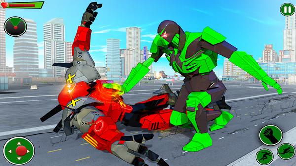 青蛙忍者英雄机器人