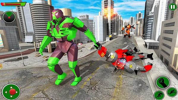 青蛙忍者英雄机器人安卓版下载