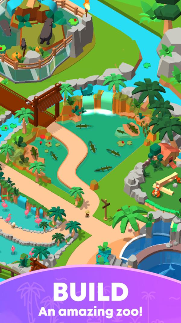 闲置动物园世界游戏下载
