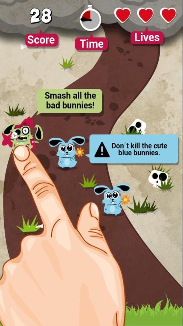 兔子粉碎机游戏