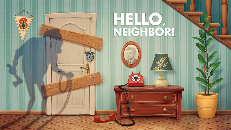香蕉邻居逃跑游戏下载